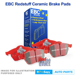 REAR SET EBC DISC BRAKE PADS NISSAN 350Z V6 2/2003-ON SUITS BREMBO CALIPERS