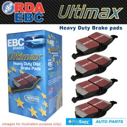 REAR SET EBC DISC BRAKE PADS VOLKSWAGEN TIGUAN 2.0T DIESEL 2007-ON