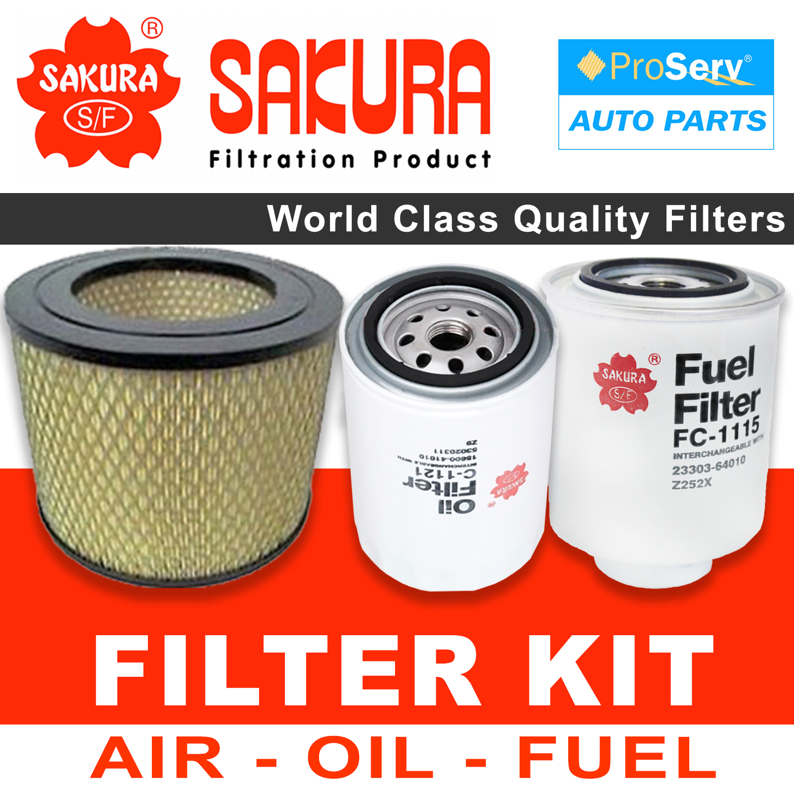 Filters 2006 Corolla Fuel Filter Oil Air Service Kit For Toyota Hilux Surf Kzn130 1kzte 1993