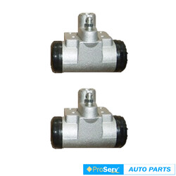 2 Rear wheel brake cylinders for Great Wall V240 K2 2.4L 4WD UTE 2010-On