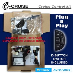 Cruise Control Kit Holden Colorado 2.5 and 2.8TDi DX 6/2012-ON (With D-Shaped control switch)