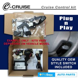 Cruise Control Kit FITS TOYOTA Yaris Sedan SEP/2011-ON (With OEM style control switch)