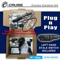 Cruise Control Kit FITS TOYOTA PRADO 90 series 1999-2003 3.0TDi (With LH Stalk control switch)