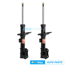 2 Front Shock absorber Struts for Holden Barina TK Hatch, Sedan 2005-2011