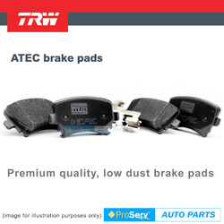 Rear Heavy Duty Premium Brake Pads SET For Holden Commodore VE VF V6 V8