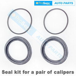 Front Brake Caliper Seal Repair Kit for Ford F100 4.1L 1967-1987