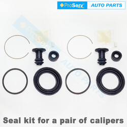 Front Brake Caliper Seal Repair Kit for Mazda RX7 Series 3 1.1L 1981 - 1983
