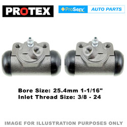 2x Rear wheel cylinders for Ford F100 4.1 litre 1970 - 1987