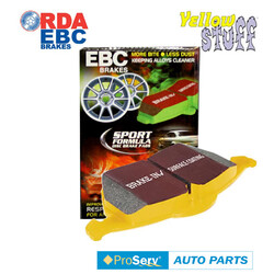 Front EBC YELLOW Disc Brake Pads for PORCHE CAYENNE 2008-Onwards