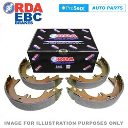 REAR SET BRAKE SHOES FITS TOYOTA T18 TE72 8/1979 - 5/1985