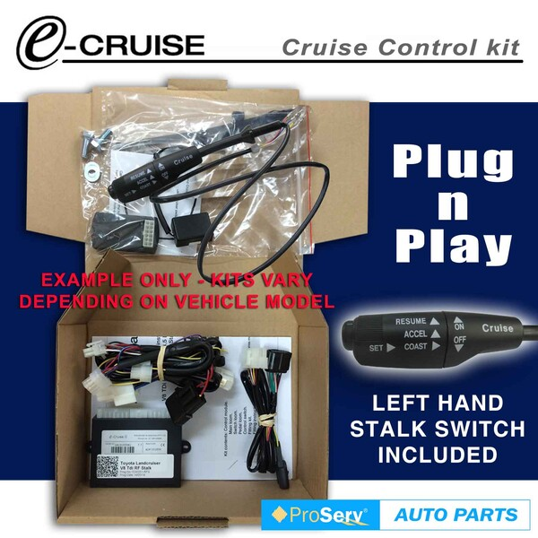 Cruise Control Kit Holden Barina Spark 1.2lt 2009-ON (With LH Stalk control switch)