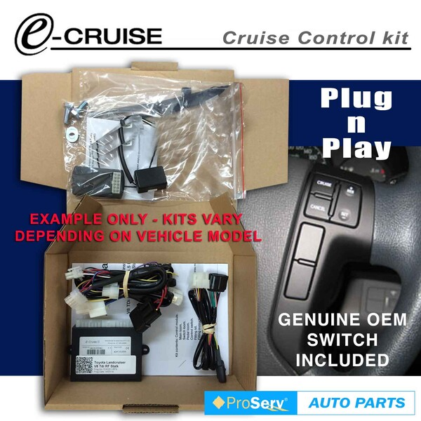 Cruise Control Kit Hyundai H1 iMax & iload diesel 2007-2017(With OEM control switch)