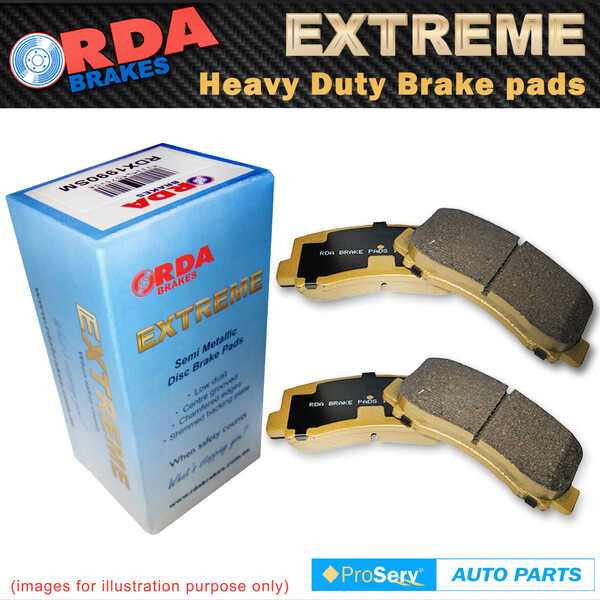 Rear HD Disc Brake Pads for Ford Focus XR5 2.5 4/2006 - 6/2012