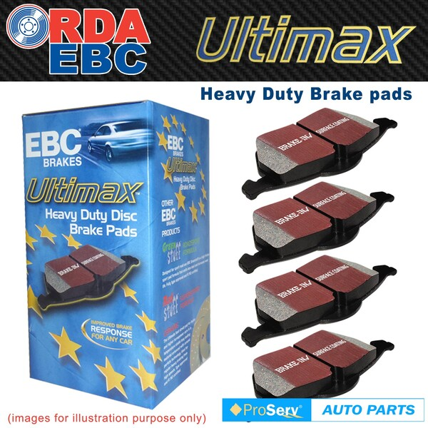 FRONT EBC DISC BRAKE PADS for SUBARU LIBERTY GT 5/2003-ON TYPE2